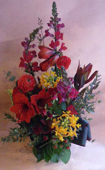 花ギフト フラワーギフト 誕生日 花 カノシェ話題 スタンド花 ウエディングブーケ 花束 花屋 amaririsu