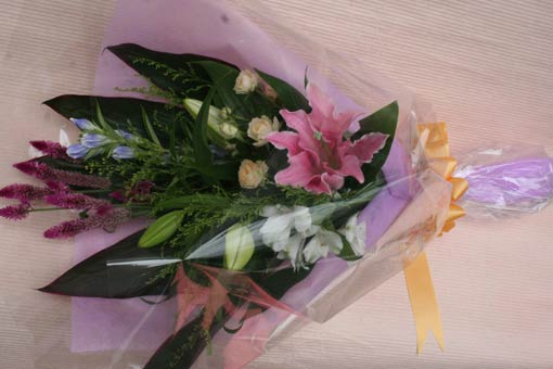 花ギフト フラワーギフト 誕生日 花 カノシェ話題 スタンド花 ウエディングブーケ 花束 花屋 enatusan-hanataba