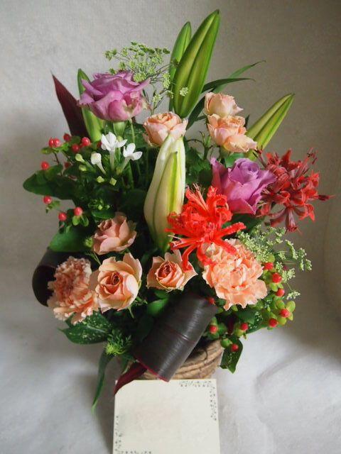 花ギフト|フラワーギフト|誕生日 花|カノシェ話題|スタンド花|ウエディングブーケ|花束|花屋|51496