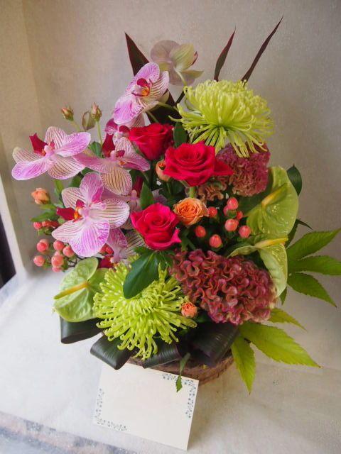 花ギフト|フラワーギフト|誕生日 花|カノシェ話題|スタンド花|ウエディングブーケ|花束|花屋|50487