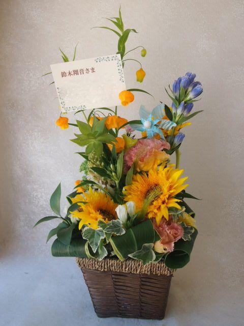 花ギフト|フラワーギフト|誕生日 花|カノシェ話題|スタンド花|ウエディングブーケ|花束|花屋|49532
