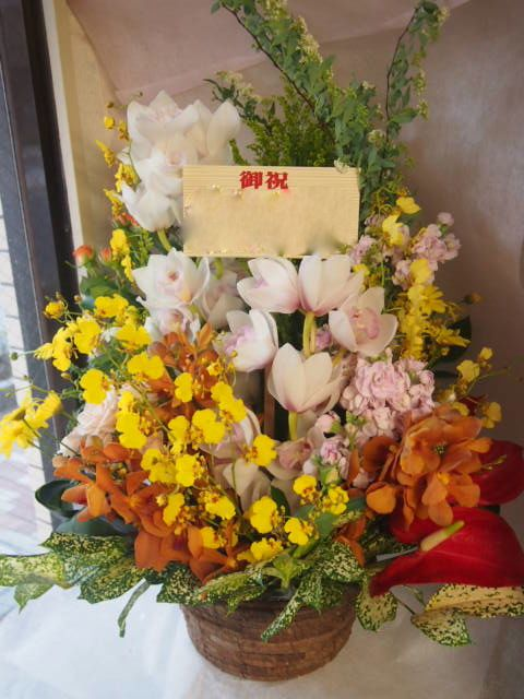 花ギフト|フラワーギフト|誕生日 花|カノシェ話題|スタンド花|ウエディングブーケ|花束|花屋|46649