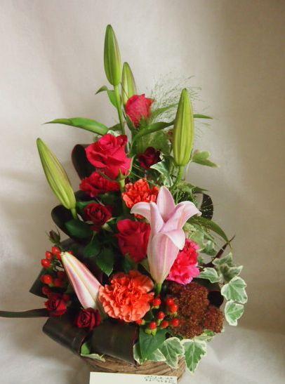 花ギフト|フラワーギフト|誕生日 花|カノシェ話題|スタンド花|ウエディングブーケ|花束|花屋|43294