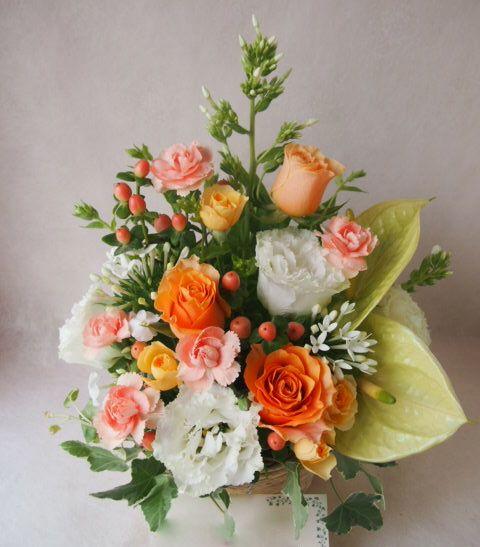 花ギフト|フラワーギフト|誕生日 花|カノシェ話題|スタンド花|ウエディングブーケ|花束|花屋|41304