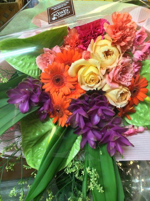 花ギフト|フラワーギフト|誕生日 花|カノシェ話題|スタンド花|ウエディングブーケ|花束|花屋|IMG_7468