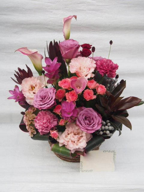 花ギフト|フラワーギフト|誕生日 花|カノシェ話題|スタンド花|ウエディングブーケ|花束|花屋|50803(1)