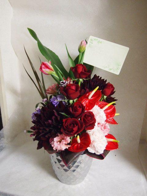 花ギフト|フラワーギフト|誕生日 花|カノシェ話題|スタンド花|ウエディングブーケ|花束|花屋|53388
