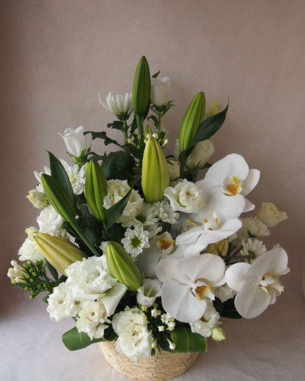 花ギフト|フラワーギフト|誕生日 花|カノシェ話題|スタンド花|ウエディングブーケ|花束|花屋|40785
