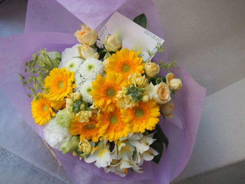 花ギフト|フラワーギフト|誕生日 花|カノシェ話題|スタンド花|ウエディングブーケ|花束|花屋|55032