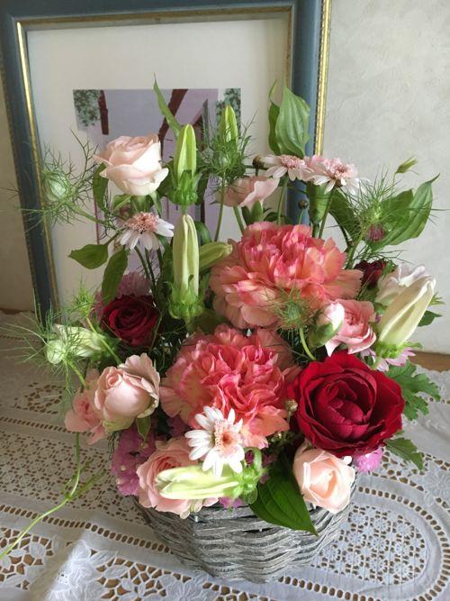 花ギフト|フラワーギフト|誕生日 花|カノシェ話題|スタンド花|ウエディングブーケ|花束|花屋|IMG_1079