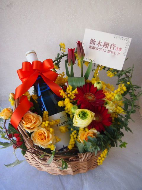 花ギフト|フラワーギフト|誕生日 花|カノシェ話題|スタンド花|ウエディングブーケ|花束|花屋|池上様