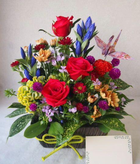 花ギフト|フラワーギフト|誕生日 花|カノシェ話題|スタンド花|ウエディングブーケ|花束|花屋|50760