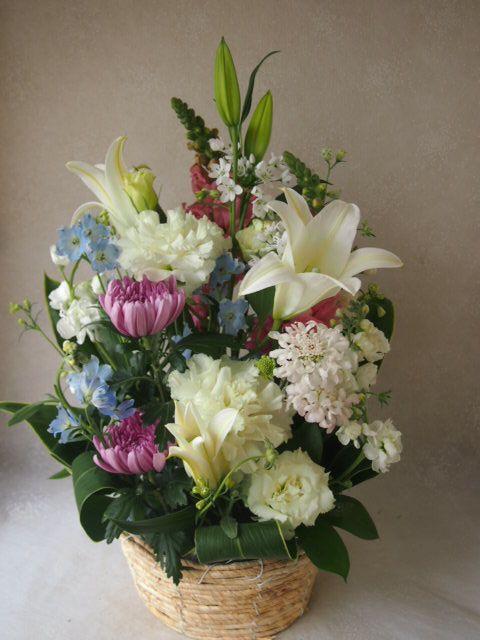 花ギフト|フラワーギフト|誕生日 花|カノシェ話題|スタンド花|ウエディングブーケ|花束|花屋|54491