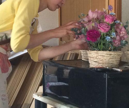 花ギフト|フラワーギフト|誕生日 花|カノシェ話題|スタンド花|ウエディングブーケ|花束|花屋|IMG_5054