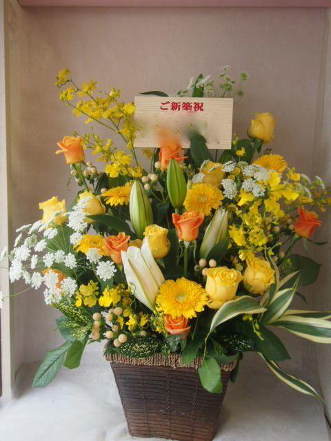 花ギフト|フラワーギフト|誕生日 花|カノシェ話題|スタンド花|ウエディングブーケ|花束|花屋|46548