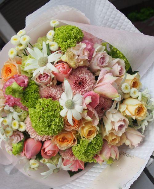 花ギフト|フラワーギフト|誕生日 花|カノシェ話題|スタンド花|ウエディングブーケ|花束|花屋|55046