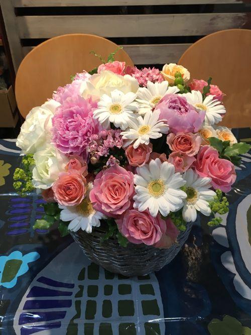 花ギフト|フラワーギフト|誕生日 花|カノシェ話題|スタンド花|ウエディングブーケ|花束|花屋|IMG_2079