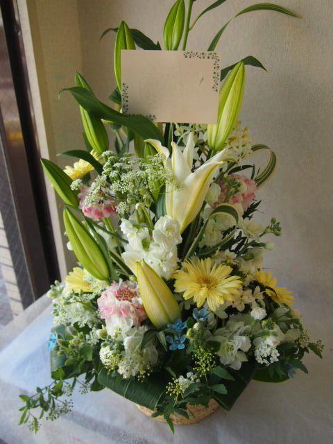 花ギフト|フラワーギフト|誕生日 花|カノシェ話題|スタンド花|ウエディングブーケ|花束|花屋|53782