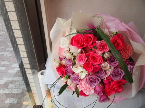花ギフト|フラワーギフト|誕生日 花|カノシェ話題|スタンド花|ウエディングブーケ|花束|花屋|56866