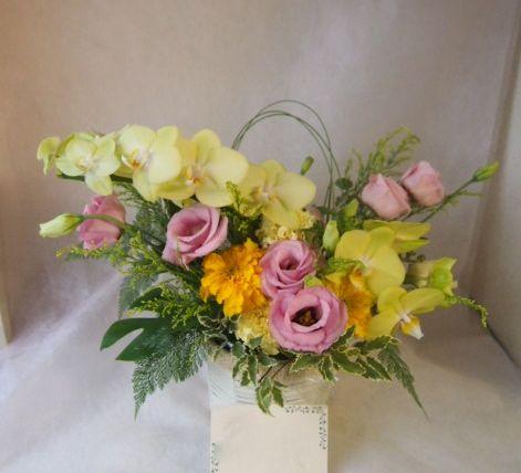 花ギフト|フラワーギフト|誕生日 花|カノシェ話題|スタンド花|ウエディングブーケ|花束|花屋|43335