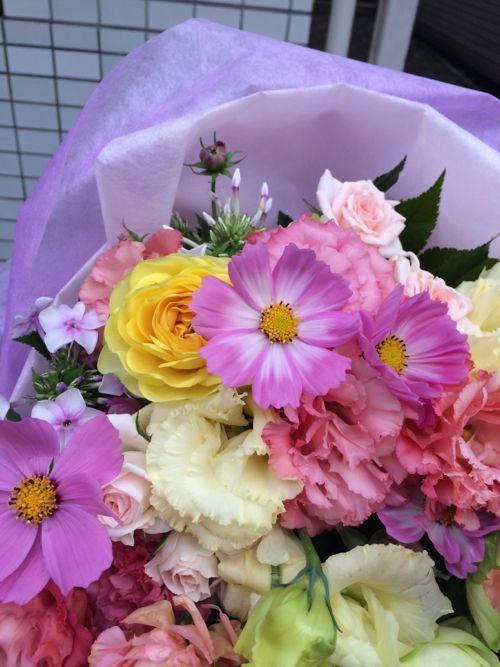 花ギフト|フラワーギフト|誕生日 花|カノシェ話題|スタンド花|ウエディングブーケ|花束|花屋|IMG_7542