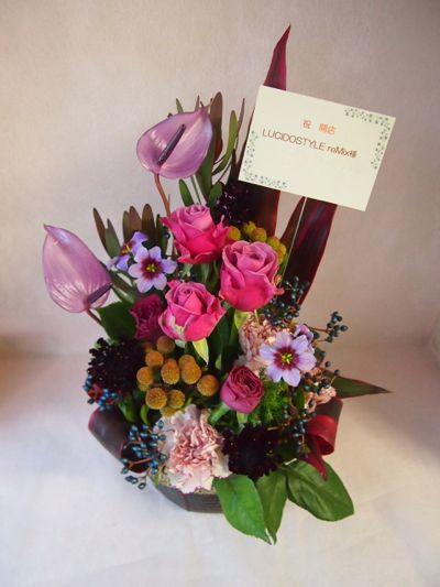 花ギフト|フラワーギフト|誕生日 花|カノシェ話題|スタンド花|ウエディングブーケ|花束|花屋|37081