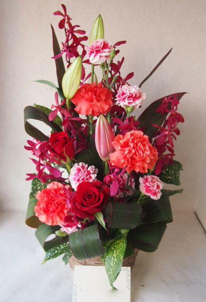 花ギフト|フラワーギフト|誕生日 花|カノシェ話題|スタンド花|ウエディングブーケ|花束|花屋|47571