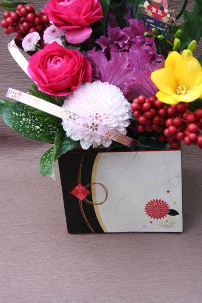 花ギフト フラワーギフト 誕生日 花 カノシェ話題 スタンド花 ウエディングブーケ 花束 花屋 IMG_5485