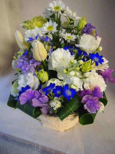 花ギフト|フラワーギフト|誕生日 花|カノシェ話題|スタンド花|ウエディングブーケ|花束|花屋|53829