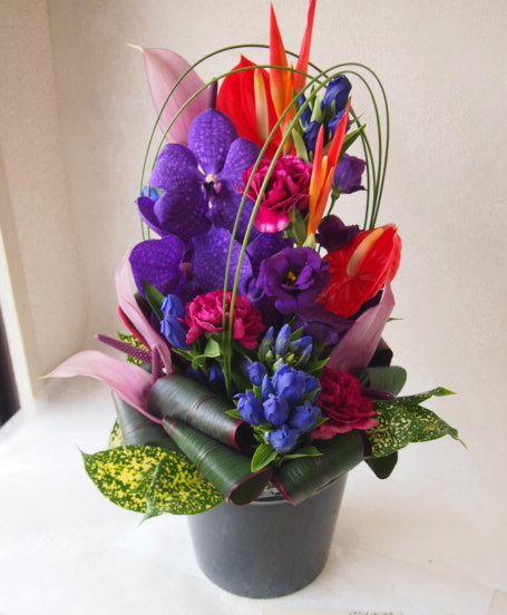 花ギフト|フラワーギフト|誕生日 花|カノシェ話題|スタンド花|ウエディングブーケ|花束|花屋|50095