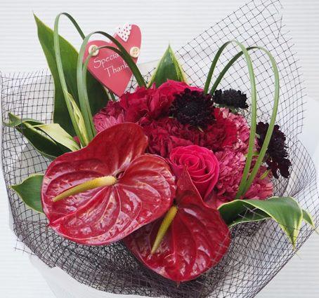 花ギフト|フラワーギフト|誕生日 花|カノシェ話題|スタンド花|ウエディングブーケ|花束|花屋|2016_haha_b1