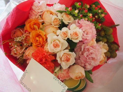 花ギフト|フラワーギフト|誕生日 花|カノシェ話題|スタンド花|ウエディングブーケ|花束|花屋|50970