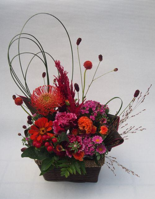 花ギフト|フラワーギフト|誕生日 花|カノシェ話題|スタンド花|ウエディングブーケ|花束|花屋|2016_aut_a_2