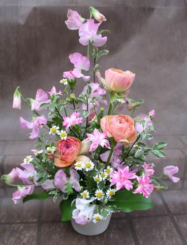花ギフト|フラワーギフト|誕生日 花|カノシェ話題|スタンド花|ウエディングブーケ|花束|花屋|IMG_6074