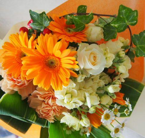 花ギフト|フラワーギフト|誕生日 花|カノシェ話題|スタンド花|ウエディングブーケ|花束|花屋|54743