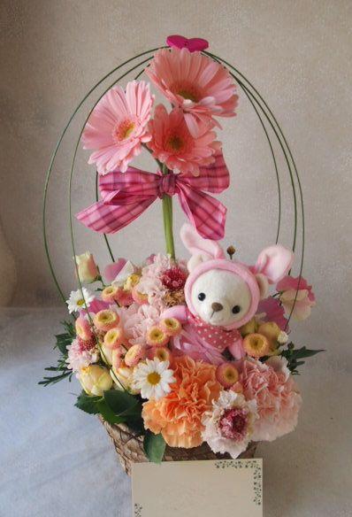 花ギフト|フラワーギフト|誕生日 花|カノシェ話題|スタンド花|ウエディングブーケ|花束|花屋|53541