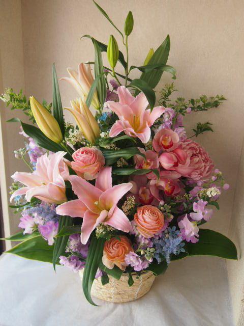 花ギフト|フラワーギフト|誕生日 花|カノシェ話題|スタンド花|ウエディングブーケ|花束|花屋|53637