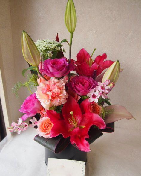 花ギフト|フラワーギフト|誕生日 花|カノシェ話題|スタンド花|ウエディングブーケ|花束|花屋|47549