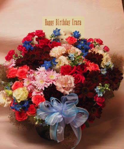 花ギフト|フラワーギフト|誕生日 花|カノシェ話題|スタンド花|ウエディングブーケ|花束|花屋|00041023