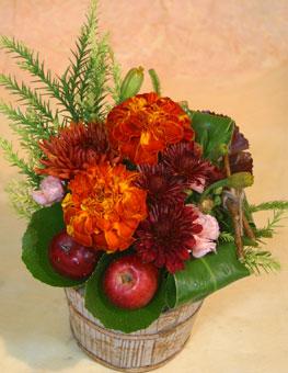 花ギフト|フラワーギフト|誕生日 花|カノシェ話題|スタンド花|ウエディングブーケ|花束|花屋|りんご