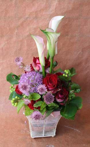 花ギフト|フラワーギフト|誕生日 花|カノシェ話題|スタンド花|ウエディングブーケ|花束|花屋|ルビー