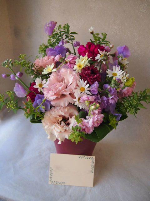 花ギフト|フラワーギフト|誕生日 花|カノシェ話題|スタンド花|ウエディングブーケ|花束|花屋|54062