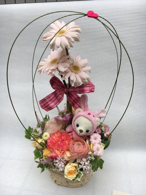 花ギフト|フラワーギフト|誕生日 花|カノシェ話題|スタンド花|ウエディングブーケ|花束|花屋|IMG_0395