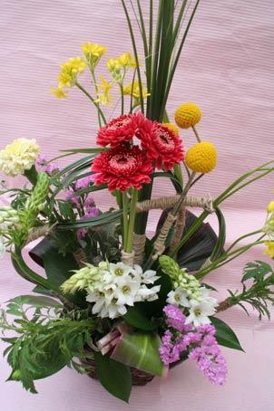 花ギフト フラワーギフト 誕生日 花 カノシェ話題 スタンド花 ウエディングブーケ 花束 花屋 IMG_7508