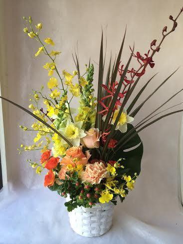 花ギフト|フラワーギフト|誕生日 花|カノシェ話題|スタンド花|ウエディングブーケ|花束|花屋|38075