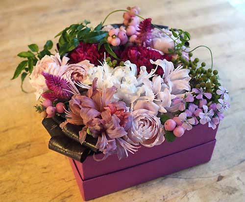 花ギフト|フラワーギフト|誕生日 花|カノシェ話題|スタンド花|ウエディングブーケ|花束|花屋|2015_aut_a_6(1)
