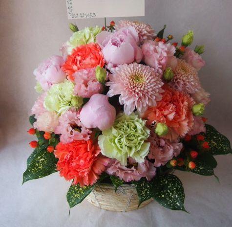 花ギフト|フラワーギフト|誕生日 花|カノシェ話題|スタンド花|ウエディングブーケ|花束|花屋|40706