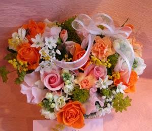 花ギフト フラワーギフト 誕生日 花 カノシェ話題 スタンド花 ウエディングブーケ 花束 花屋 かよこはーと