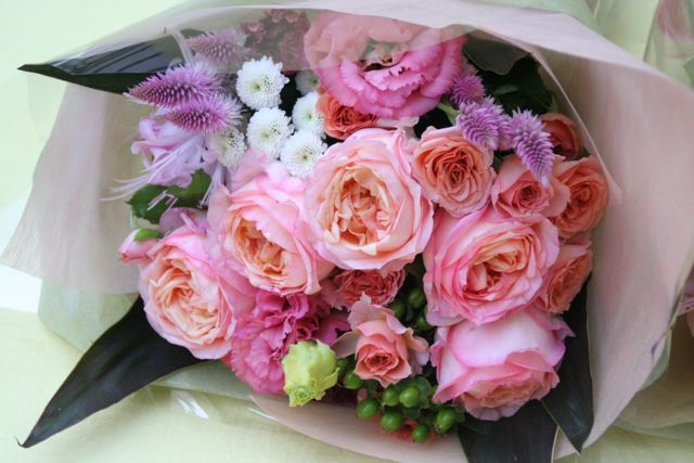 花ギフト|フラワーギフト|誕生日 花|カノシェ話題|スタンド花|ウエディングブーケ|花束|花屋|IMG_0221