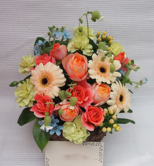 花ギフト|フラワーギフト|誕生日 花|カノシェ話題|スタンド花|ウエディングブーケ|花束|花屋|55364
